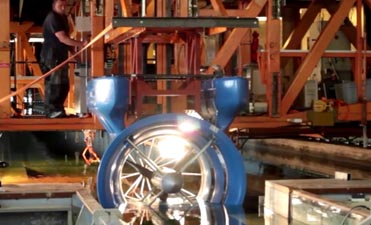 Power curve and hydrodynamics tests of the SMART Turbine